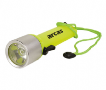 LIN-083 Linterna LED para buceo sumergible hasta 15m 3W color amarillo